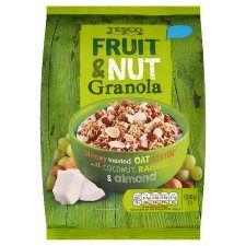Tesco Fruit and Nut Granola 500g