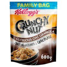 Kelloggs Crunchy Nut Hazelnuts and Chocolate Granola 600g