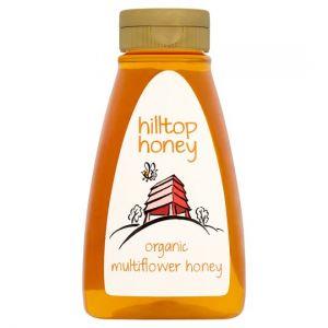 Hiltop Honey Organic Multiflower 370g