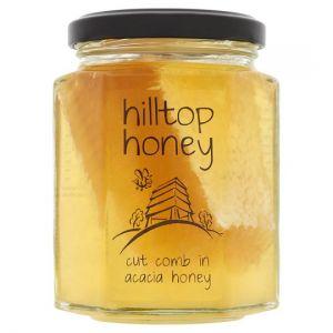 Hilltop Honey Cut Comb Honey 340g