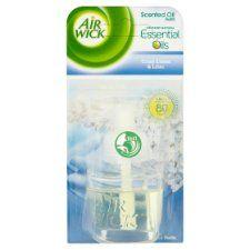 Airwick Air Freshener Crisp Linen Plug In Refill 17 ml