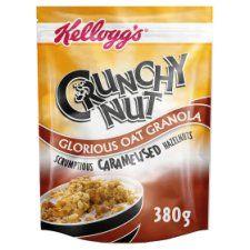 Kelloggs Crunchy Nut Caramelised Granola 380g