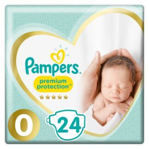 Pampers New Baby Size 0 Carry Pack 24