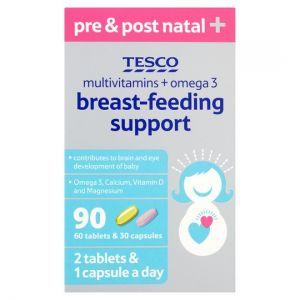 Tesco Breastfeeding Support 90'S