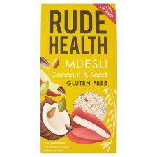 Rude Health Coconut Seeds Muesli Gluten Free 500g