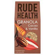 Rude Health Cacao and Vanilla Granola 450g