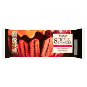 Tesco 8 Trifle Sponges 160g