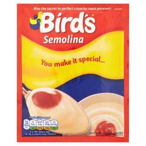 Birds Whisk & Serve Semolina 98g Packet