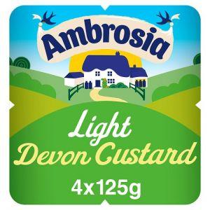 Ambrosia Low Fat Custard 4 X 125g