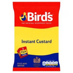 Birds Instant Custard Original Triple Pack 225g