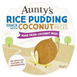 Auntys Coconut Rice Pudding 120g