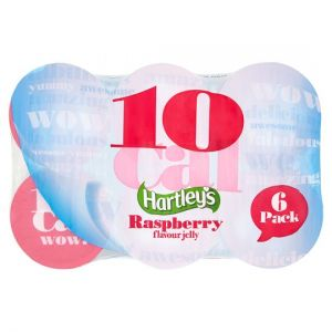 Hartleys 10 Calorie Raspberry Jelly 6 X175g