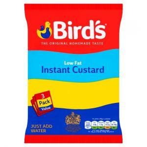 Birds Instant Custard Low Fat Triple Pack 225g