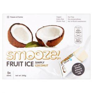 Smooze Fruit Ice Simply Coconut 5 X 65ml