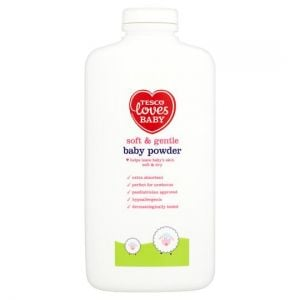 Tesco Loves Baby and Toddler Soft and Gently/Gentle Powder 400g