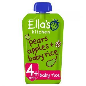 Ella's Kitchen Pears Apples Plus Baby Rice 120g