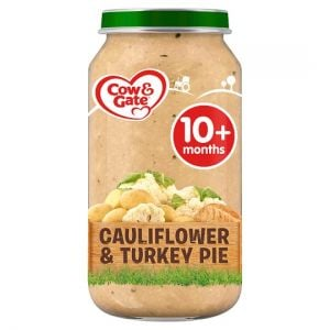Cow & Gate Stage 3 Cauliflower Turkey Pie 250g Jar
