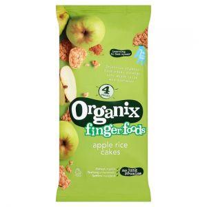 Organix Apple Rice Cakes Multipack 4X28g