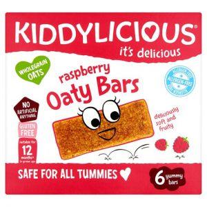 Kiddylicious Allergen Free Oaty Bar 6X20g