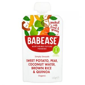 Babease Sweet Potato Pear and Coconut Water 100g