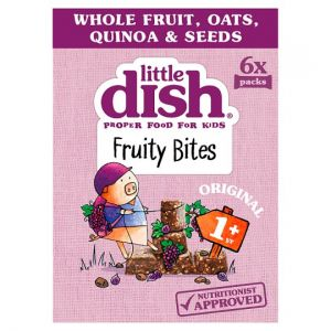 Little Dish Original Fruity Bites 6X25g