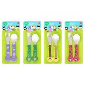 Tesco Loves Toddler Easy Hold Cutlery Set