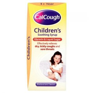 Calcough Childrens Syrup Blackcurrant 125ml