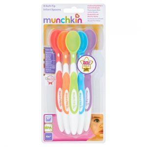 Munchkin Soft Tip Spoons X 6