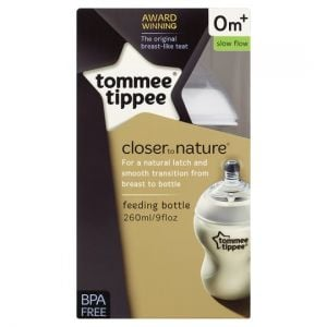 Tommee Tippee Closer To Nature Feeding Bottle 260ml
