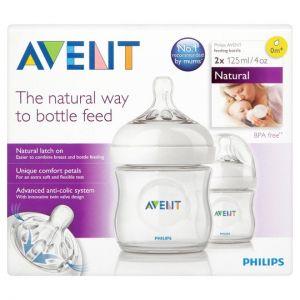 Avent Natural Bottle 125ml 2S