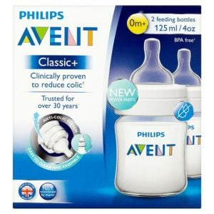 Philips Avent Classic+ 4 Oz Bottle 2 Pack