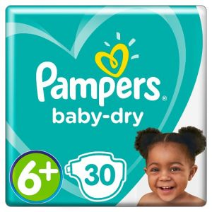 Pampers Baby Dry Size 6+ Essential Pack 27 Nappies
