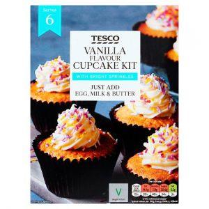 Tesco Vanilla Cupcake Mix 290g