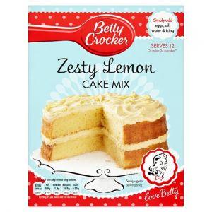 Betty Crocker Zesty Lemon Cake Mix 425g
