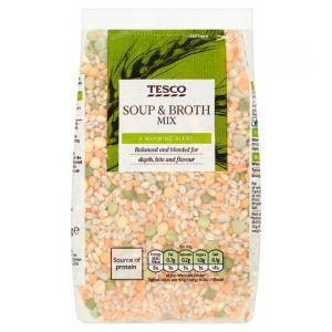 Tesco Soup & Broth Mix 500g