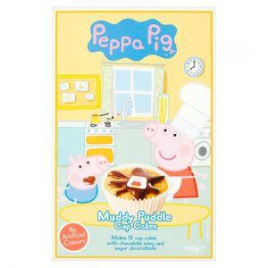 Peppa Pigs Muddy Puddle Cupcake Mix 225g