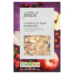 Tesco Finest Apple & Cranberry Stuffing Mix 130g