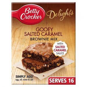 Betty Crocker Salted Caramel Brownie Mix 430g