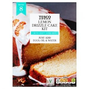 Tesco Lemon Drizzle Cake Kit 320g