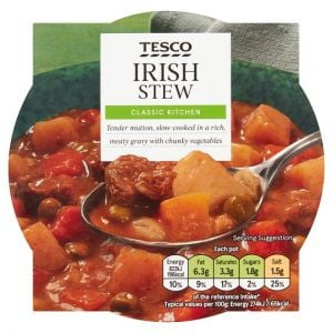 Tesco Irish Stew With Vegetable 300g