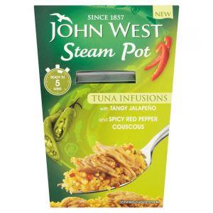 John West Steam Pot Tuna Infusions Jalapeno 150g