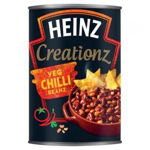 Heinz Creationz Vegetable Chilli Beans 390g
