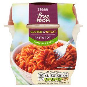 Tesco Gluten Free Tomato and Basil Pasta Pot 300g