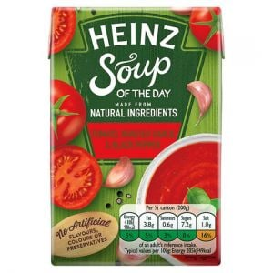 Heinz Soup Tomato Garlic and Black Pepper 400g