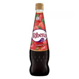 Ribena No Added Sugar Strawberry 850ml