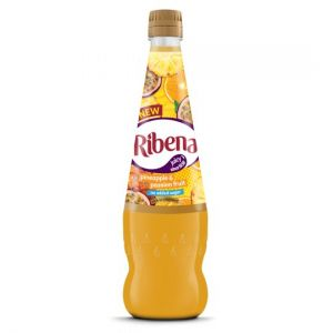 Ribena No Added Sugar Pineapple & Passion Fruit 850ml