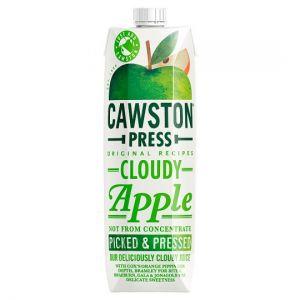 Cawston Vale Cloudy Apple Juice 1Ltr