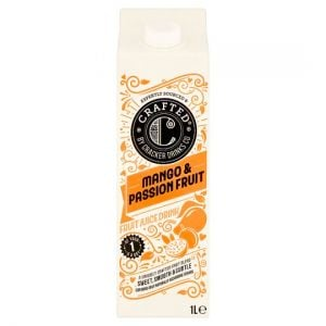 Crafted No Added Sugar Mango & Passion Fruit Juice 1 Litre