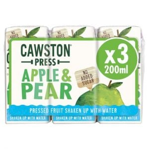 Cawston Press Apple & Pear 3X200ml
