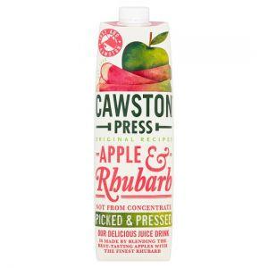 Cawston Press Apple & Rhubarb Juice 1Ltr